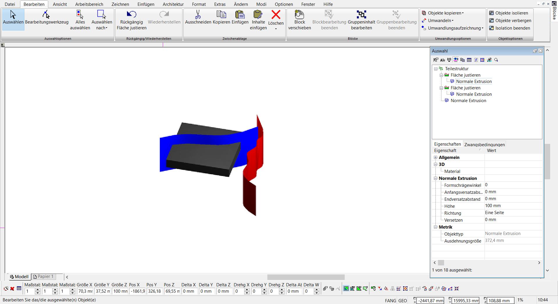 TurboCAD Pro Platinum - ACIS Volumenmodellierung