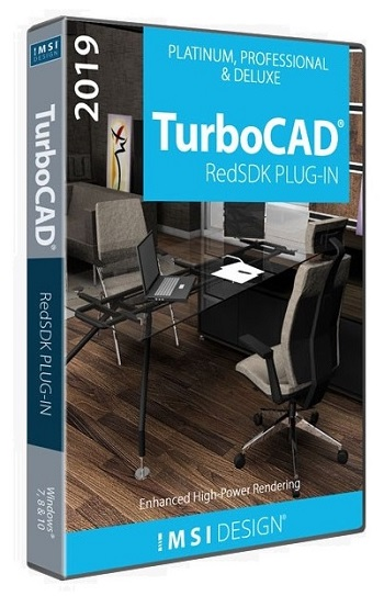 RedSDK Plug-In für TurboCAD Pro Platinum