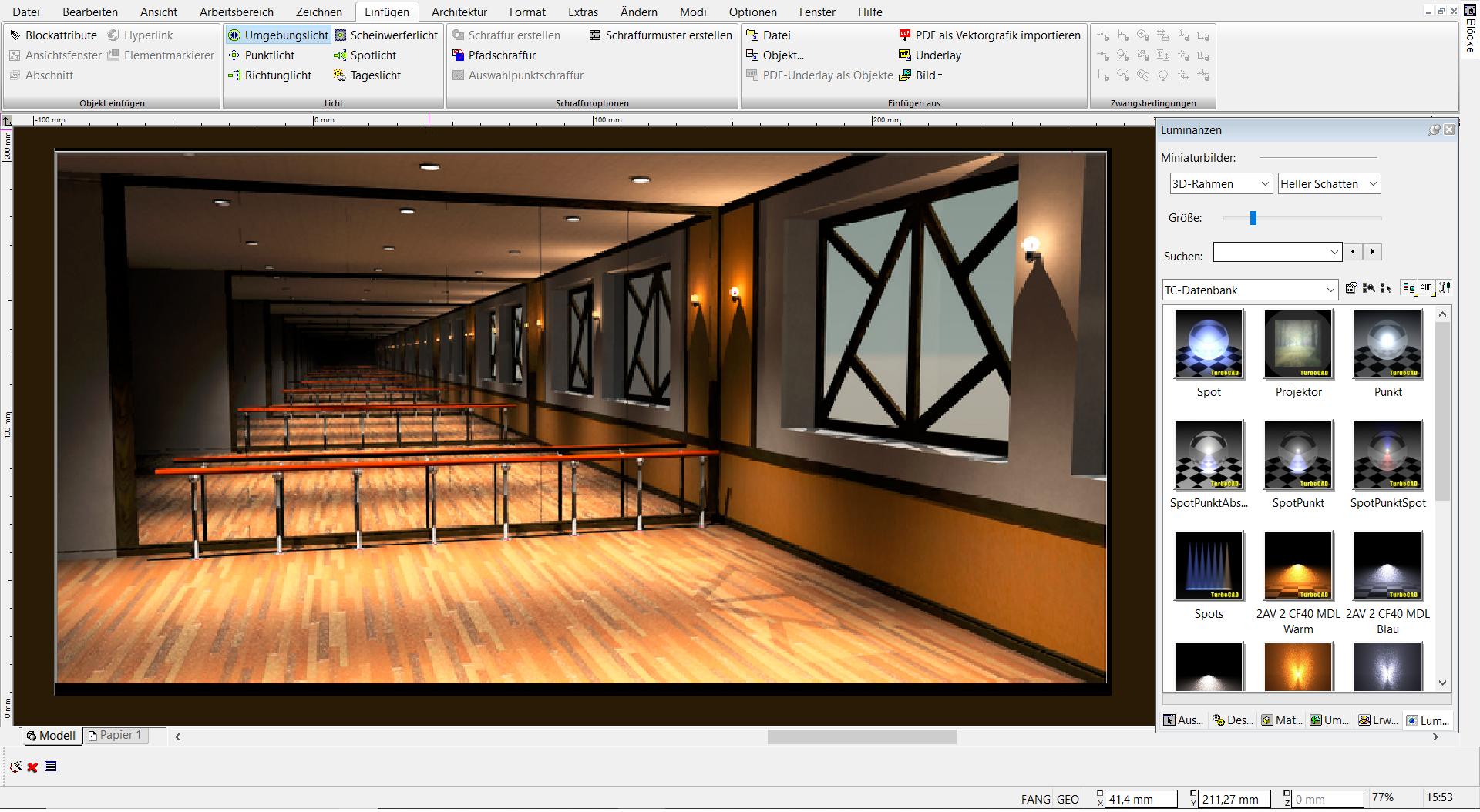 TurboCAD 2D 3D - Rendern und Visualisieren