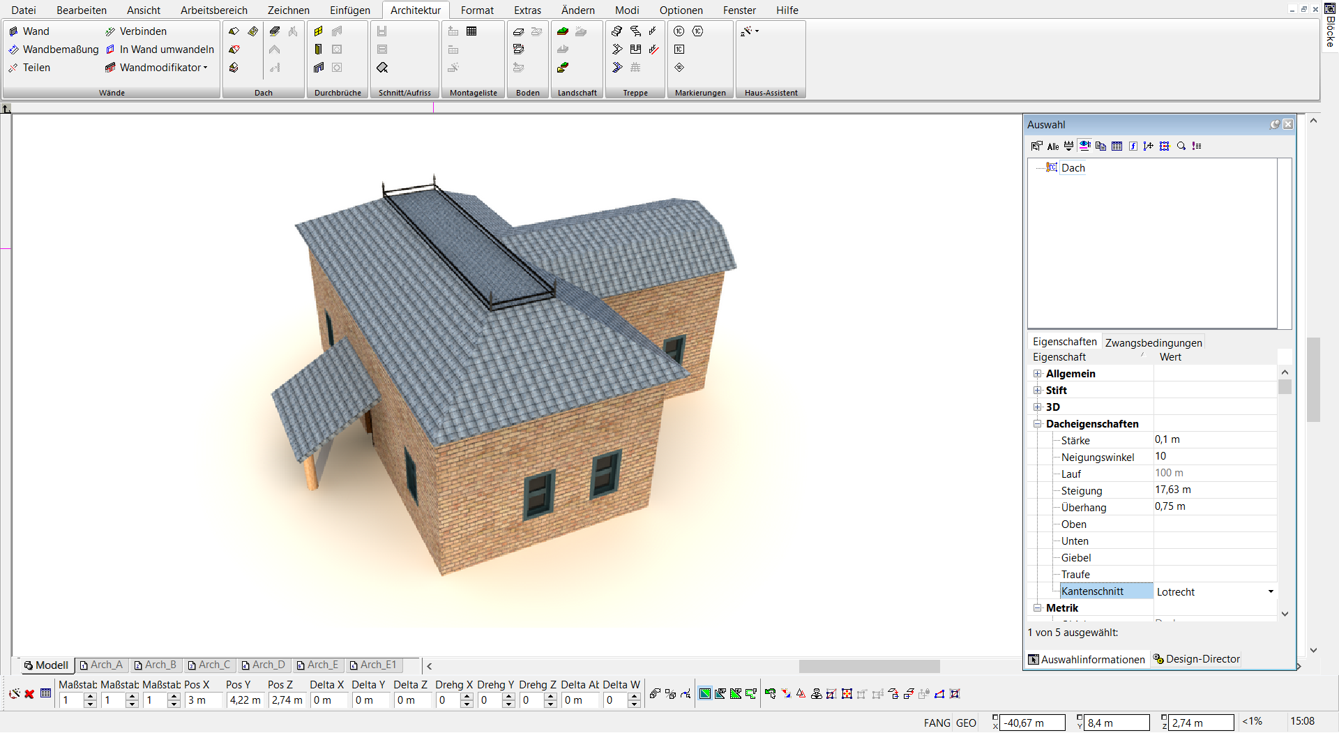TurboCAD 2D 3D Haus Assistent