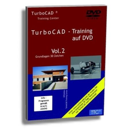 Vergrößern TurboCAD 3D Trainings DVD