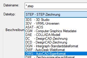 DWG_und_STEP_Unterstützung