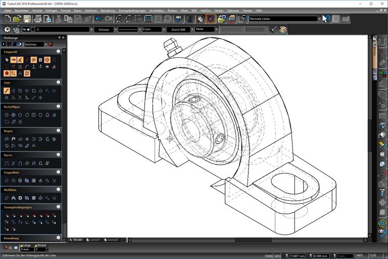 Konstruieren mit TurboCAD