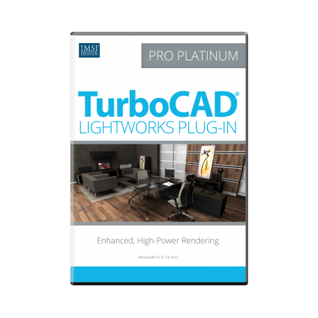 LightWorks Plugin für TurboCAD Pro Platinum 2017