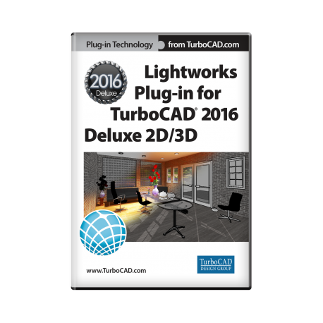 Lightworks-Plug-in für TurboCAD 2D/3D 2016