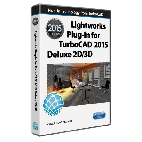 Lightworks-Plug-in für TurboCAD 2D/3D 2015