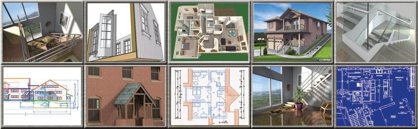 TurboCAD für Bauzeichner, Innenarchitekten und Architekten
