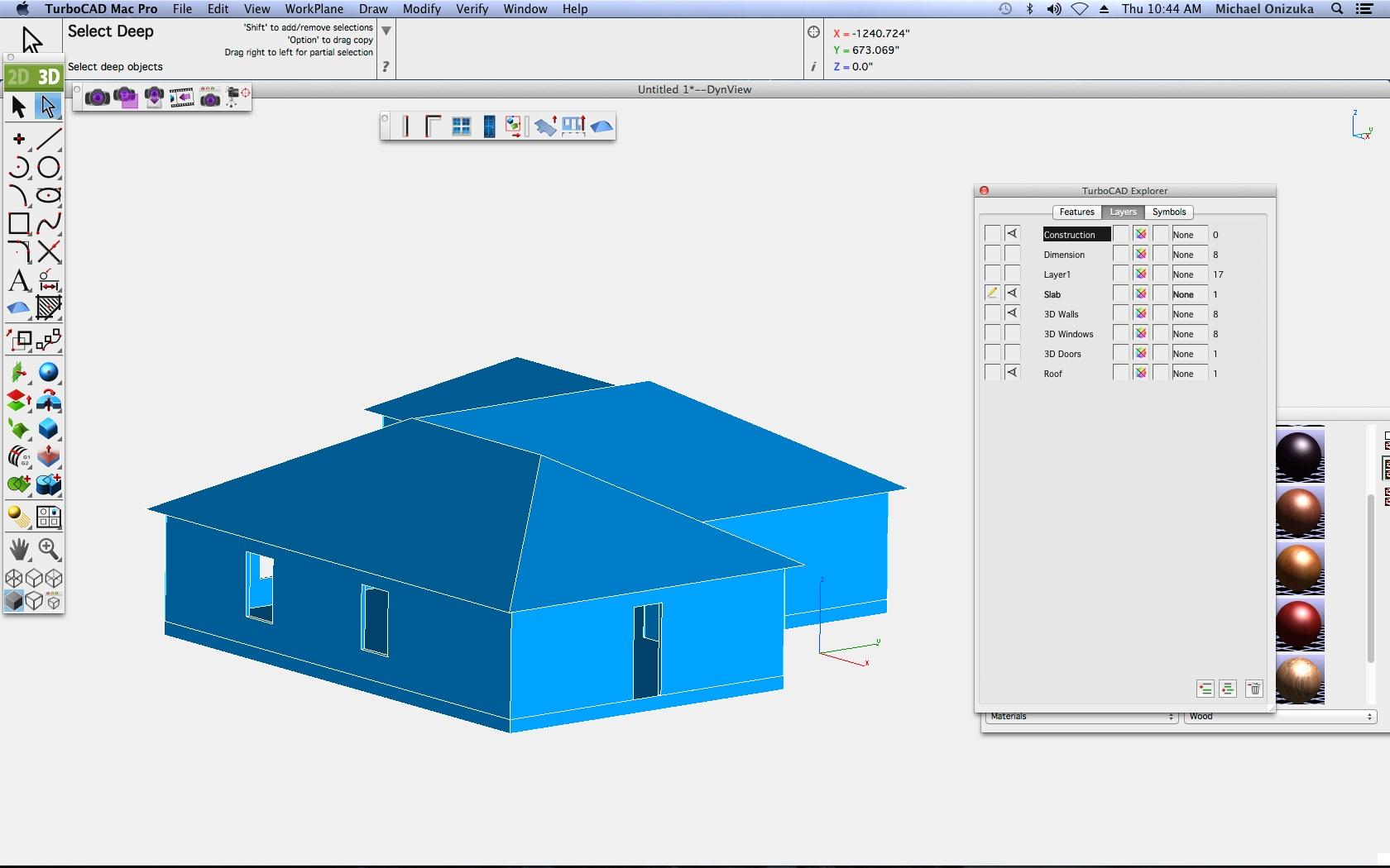 TurboCAD Mac Pro - Dachwerkzeug