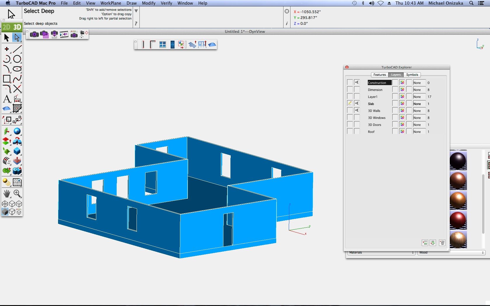 TurboCAD Mac Pro - Grundrisse