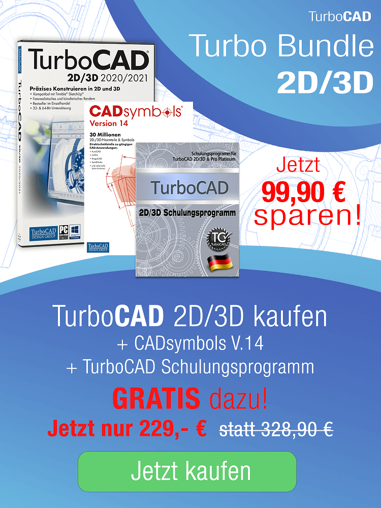 TurboCAD 3D Bundle CADsymbols - Schulung